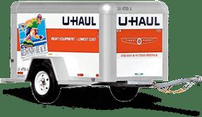 Uhaul Enclosed 4x8 Trailer