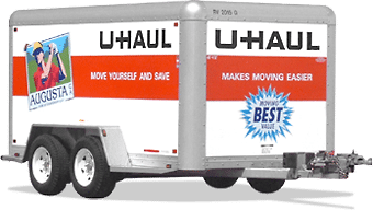 Uhaul Enclosed 6x12 Trailer